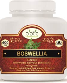 Boswellia serrata Extract Capsules - Herbal Capsules for cancer treatment