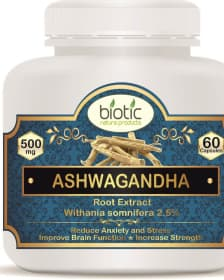 Ashwagandha Extract Capsules Herbal capsules for good health and for body strength