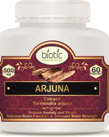 Arjuna Extract Capsule - Herbal Capsules for kapha pitta vata