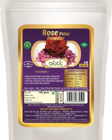 Rose Petal Powder - Rose petals powder uses and Rose petals powder benefits for skin and Rose petals powder for hair