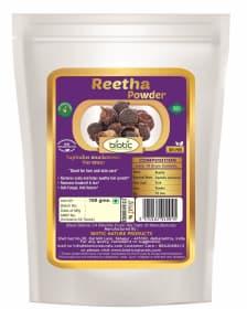 Reetha Powder - Herbal Powder for hair growth and Buy reetha powder online india and Reetha powder for dandruff