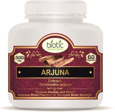 Arjuna Extract Capsule - Herbal Capsules for kapha pitta vata