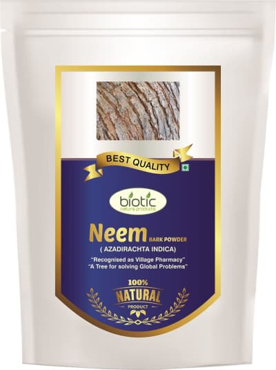 Neem Bark Powder - Herbal Powder for teeth stronger gums and for anti bacterial insecticides and for anti fungal spermicides