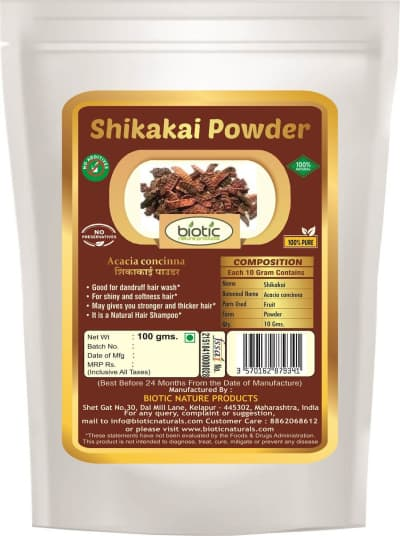 Shikakai powder - Herbal powder for hair care online india and for hair fall dandruff and for hair straightener