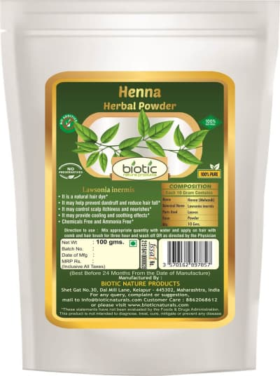 Natural Heena Powder -