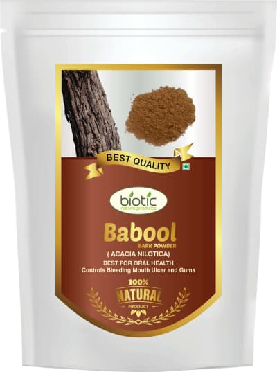 Babool Bark Powder - Ayurvedic Powder for dental care and for gum disease and teeth