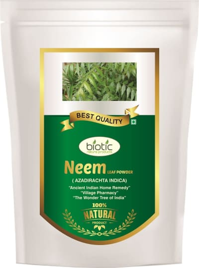 Neem Leaf Powder - Herbal Powder for anti diabetic lowers blood sugar level and for boost immune system and for kills intestinal worms