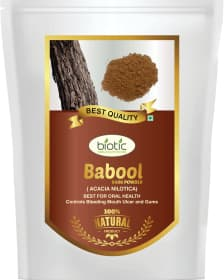 Babool Bark Powder - Ayurvedic Powder for dental care and for gum disease and teeth