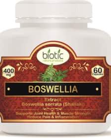 Boswellia serrata Extract Capsules - Herbal Capsules for cancer treatment