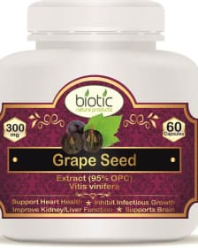 Grape Seed Extract Capsules - Herbal Capsules for improve heart health