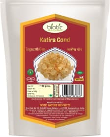 Katira Gond / Tragacanth gum - herb for new mothers lactation and for strengthen immune system and for increasing libido and for tumor reduction and for involuntary urination