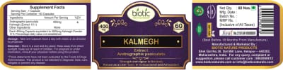 Kalmegh Extract Capsules - Herbal Capsules for kills intestinal worms