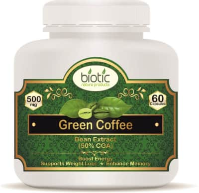 Green Coffee Extract Capsules - Herbal Capsules for improve memory skill