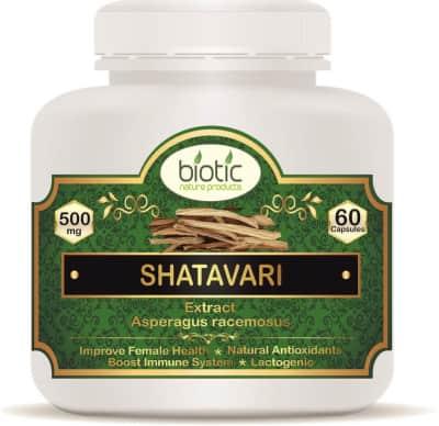 Shatavari Extract Capsules - Herbal Capsules for increasing breast milk