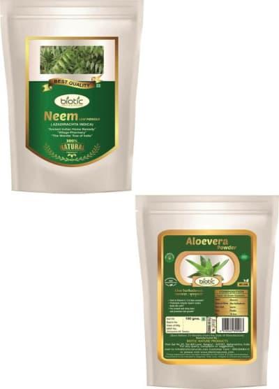 NeemLeaf-Aleovera