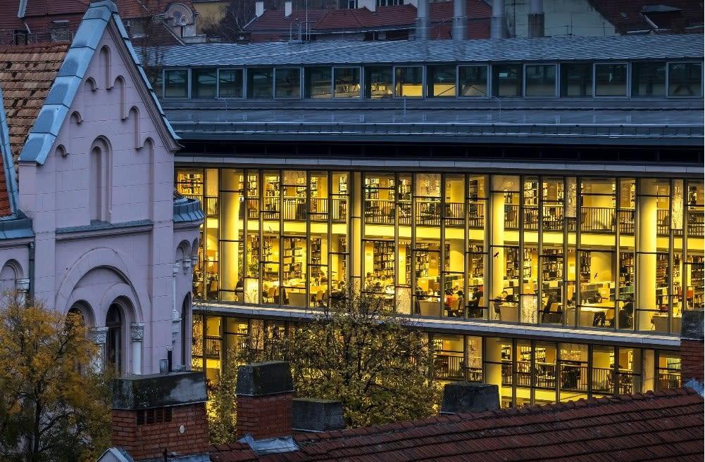 Library of University of Szeged.