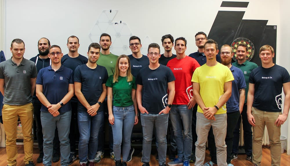 Group photo of our team.