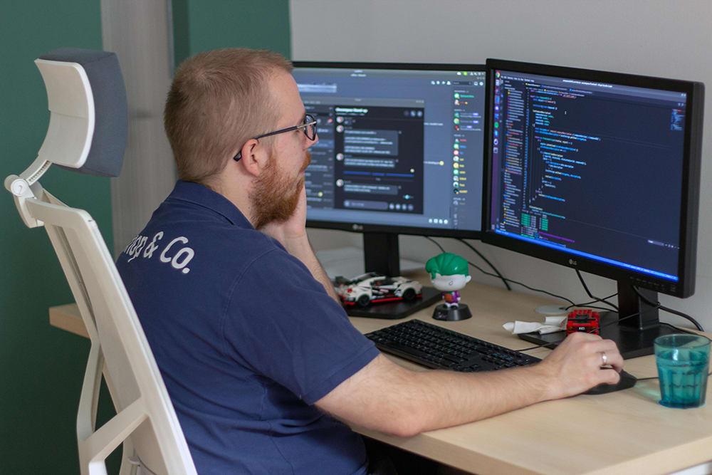 Bishop & Co. software development.