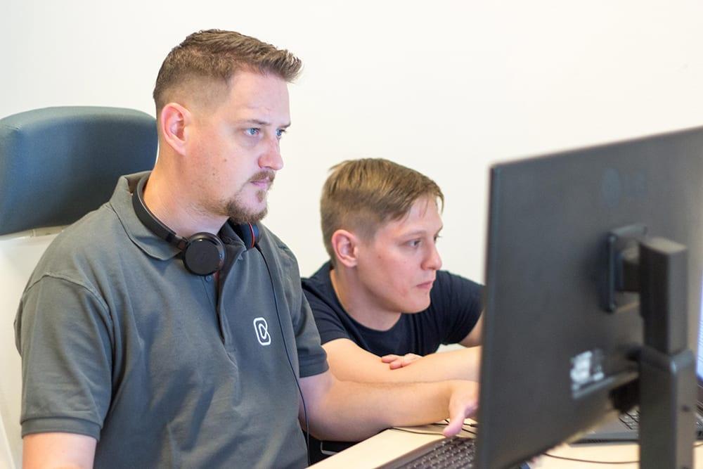 Web app development team