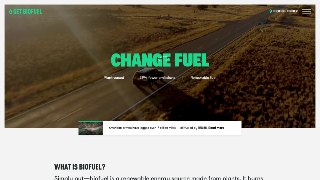 Get Biofuel Homepage