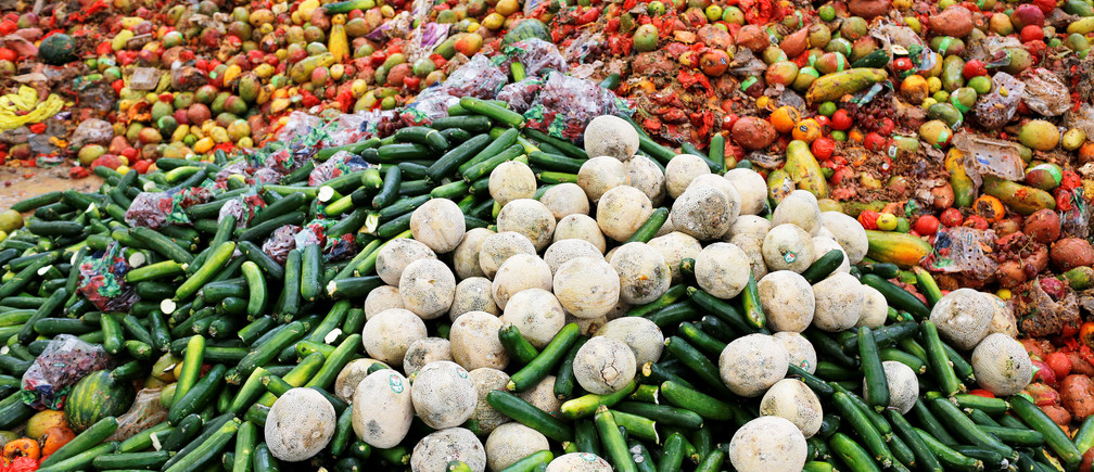 Vegetables wastages