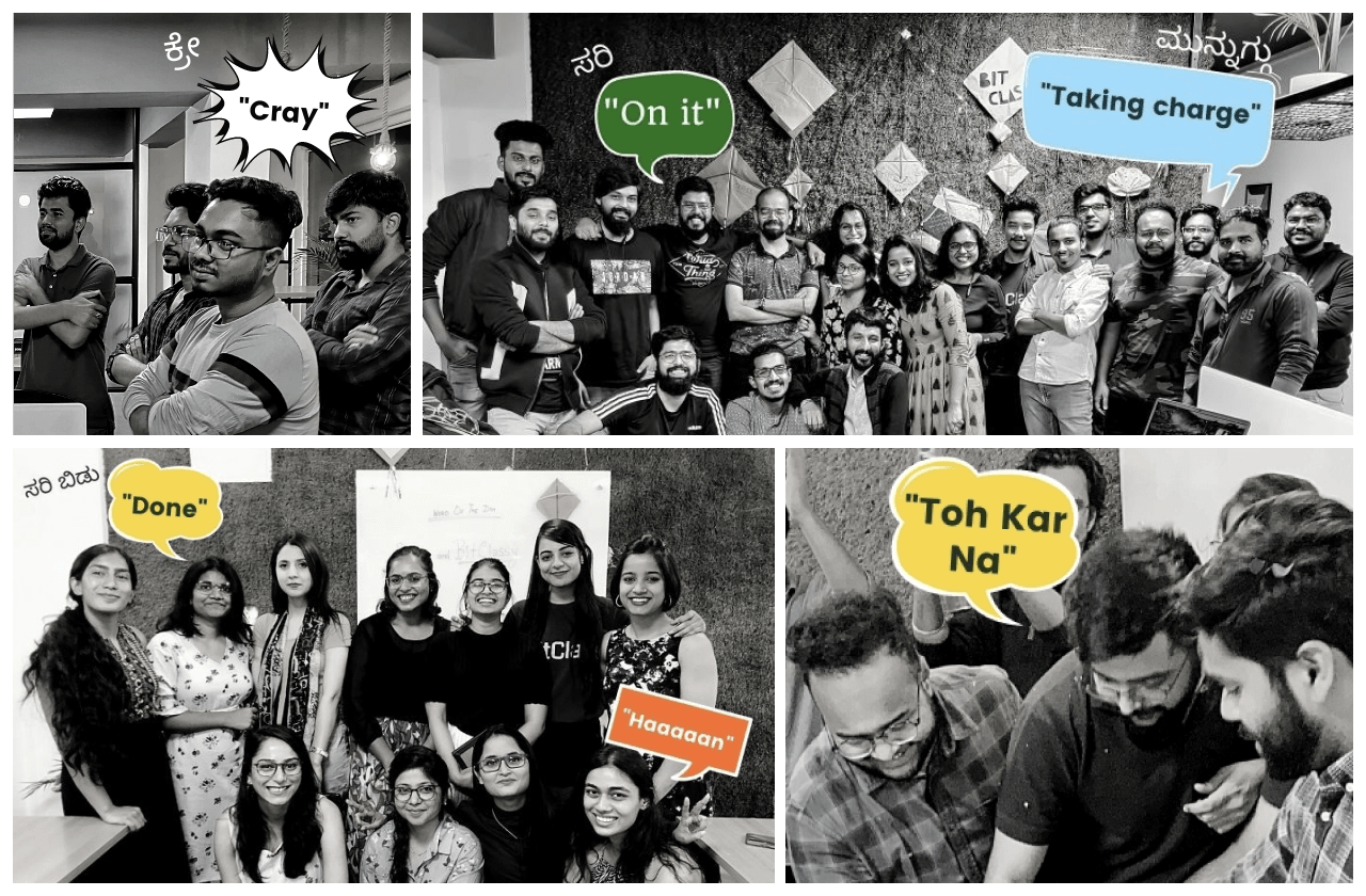 This is BitClass collage