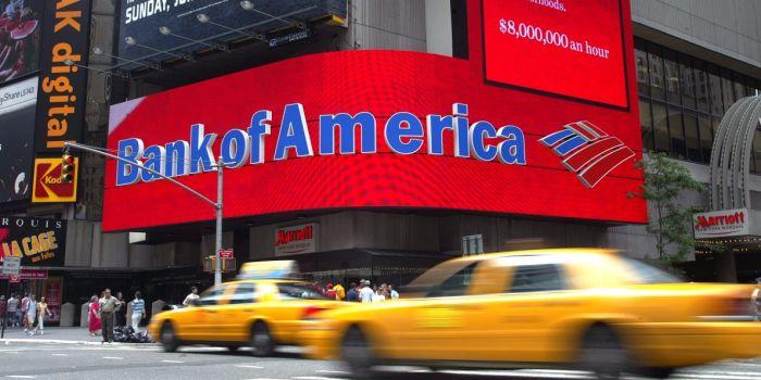 «Bank of America» получил патент обмен криптовалют