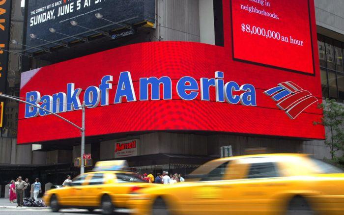 «Bank of America» зарабатывает до 6000 больше на комиссиях чем Bitcoin