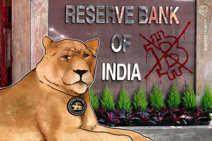 Резервный банк Индии призывает Верховный суд регулировать криптовалюты