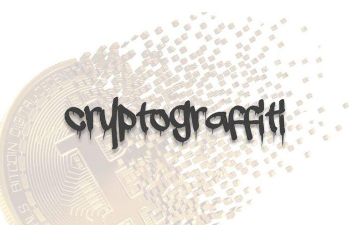 Cryptograffiti «написал» портрет Джейми Даймона