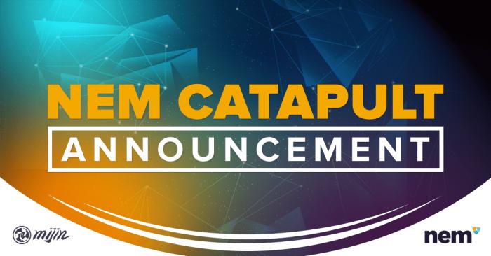 Tech Bureau представила Catapult — блокчейн-движок для протокола NEM