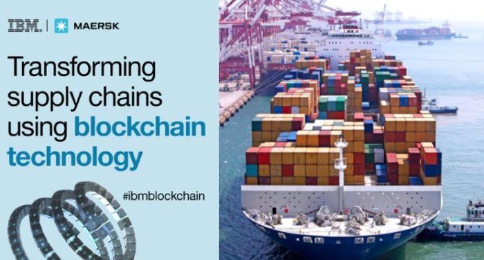 Maersk совместно с IBM запускают блокчейн-платформу для глобальной торговли