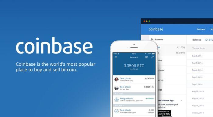 Число пользователей Coinbase достигло 10 млн