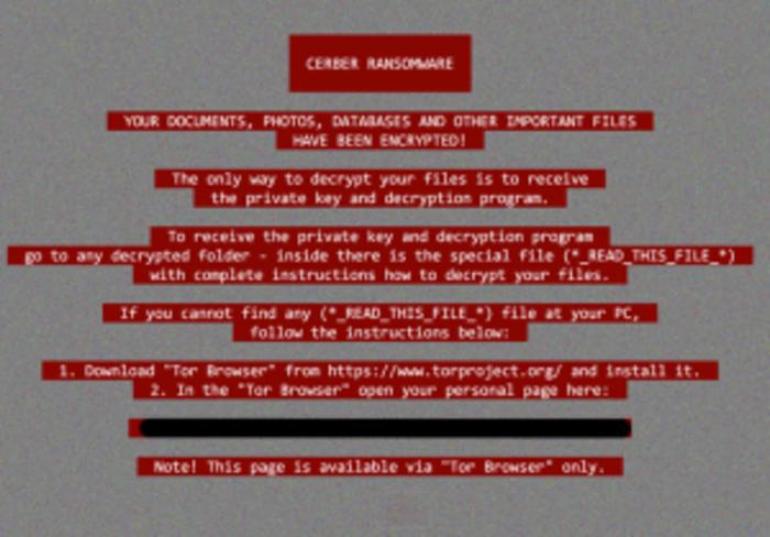 Биткойн-вымогатель Cerber начал красть пароли для входа в криптокошельки