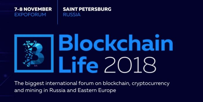2nd annual international forum «Blockchain Life 2018»