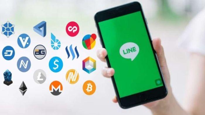 Line запускает криптообмен