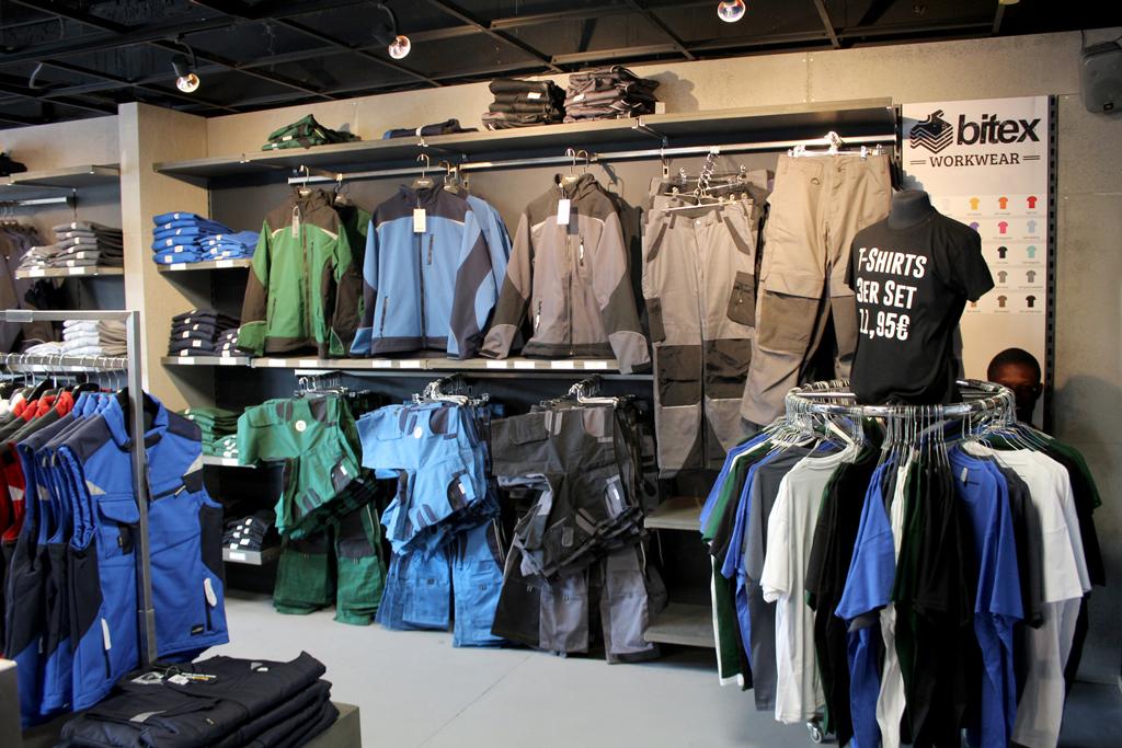 Bitex Workwear Laden 1