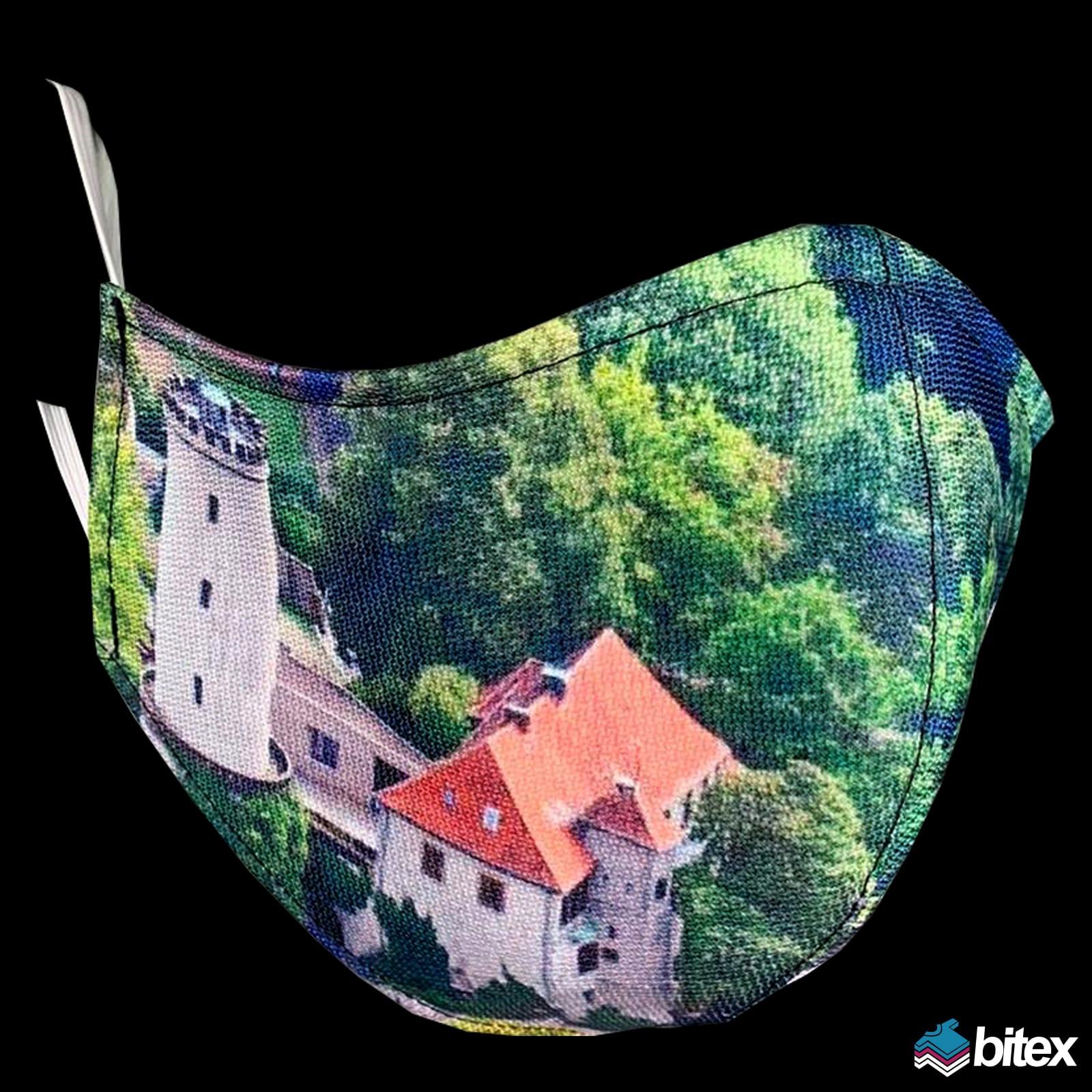 Sparrenburg Bielefeld Gesichtsmaske Mundmaske Alltagsmaske Mundbedeckung