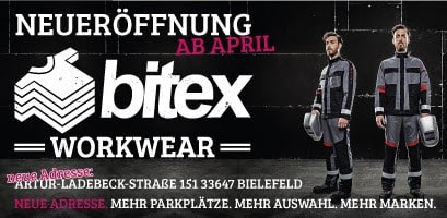 Bitex Workwear Neueröffnung