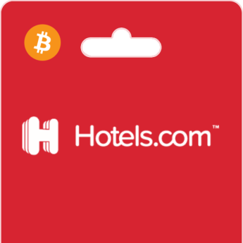 Hotels.com Vouchers on Bitrefill with Bitcoin ou altcoins