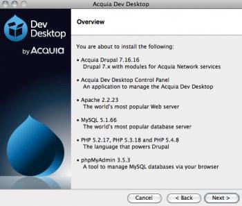 نرم افزار راه اندازی دروپال در محیط لوکال