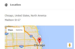 دی جی کلاسیفیدز بهینه شده برای نقشه گوگل