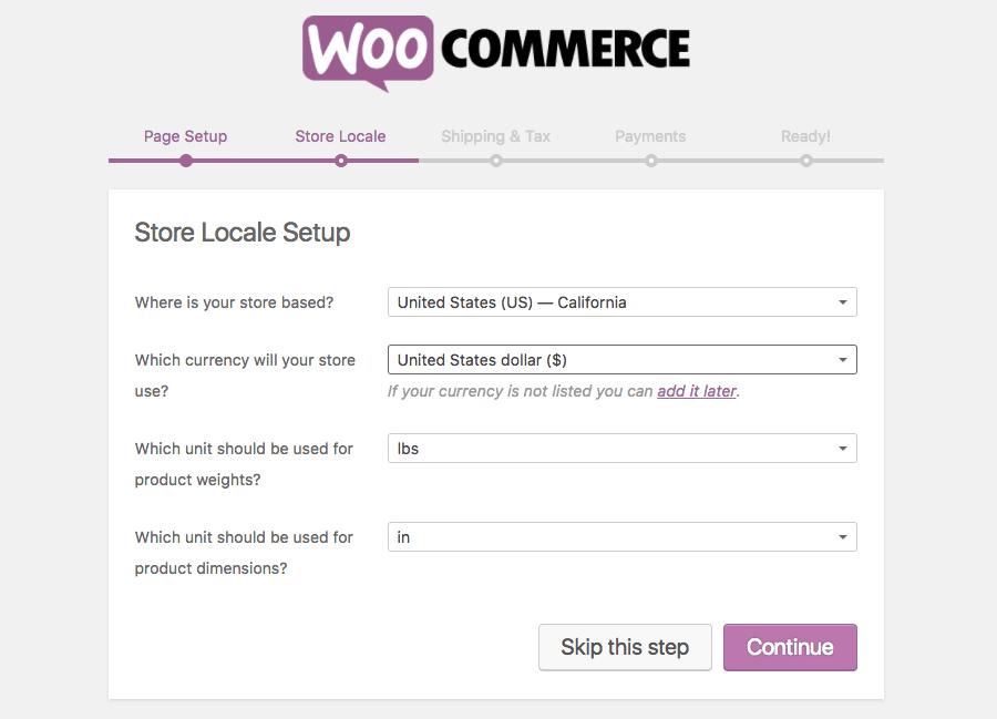راه اندازی فروشگاه اینترنتی ووکامرس
