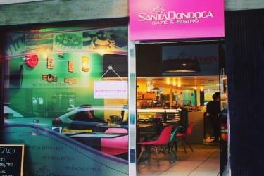 Maravilhosa Cafeteria próxima à Beira Mar