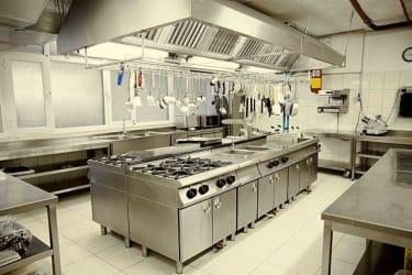 Cozinha Industrial com montagem completa