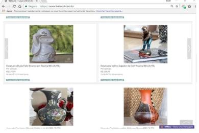 E-commerce e Importadora de Decoração e Utilidades