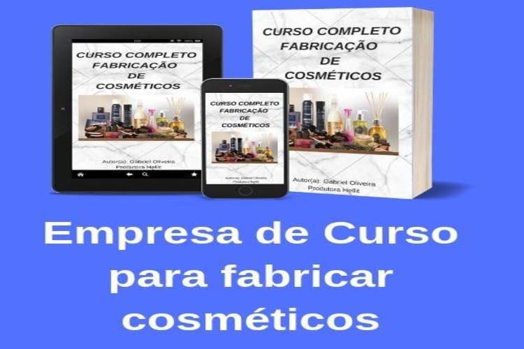 Empresa à venda em Ipatinga/MG - Empresa de Curso para Fabricação de Cosméticos