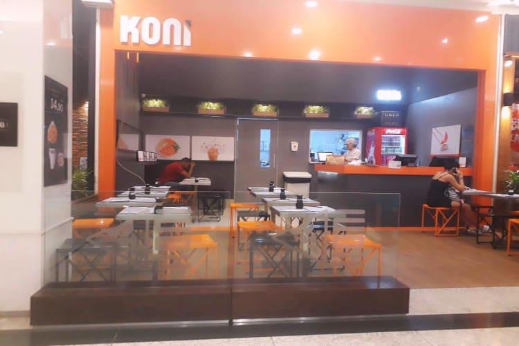 Empresa à venda em Rio de Janeiro/RJ | Restaurante da Franquia KONI Shopping Carioca - RJ | Foto 1