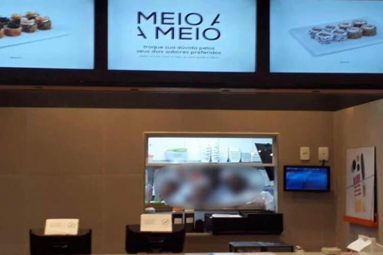 Empresa à venda em São João de Meriti/RJ   Restaurante Franquia KONI Shopping Grande Rio-RJ   Foto 2