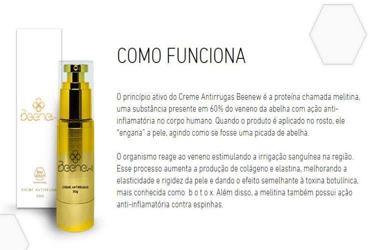 Empresa à venda em Tatuí/SP   Creme Antirrugas Beenew - com registro na ANVISA   Foto 3